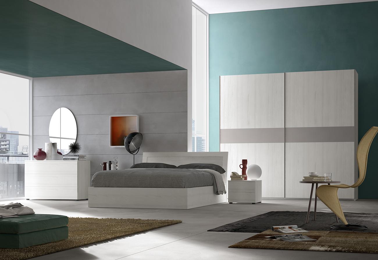 Camera da letto rovere cenere camera da letto grigio for Bissolo arredamenti