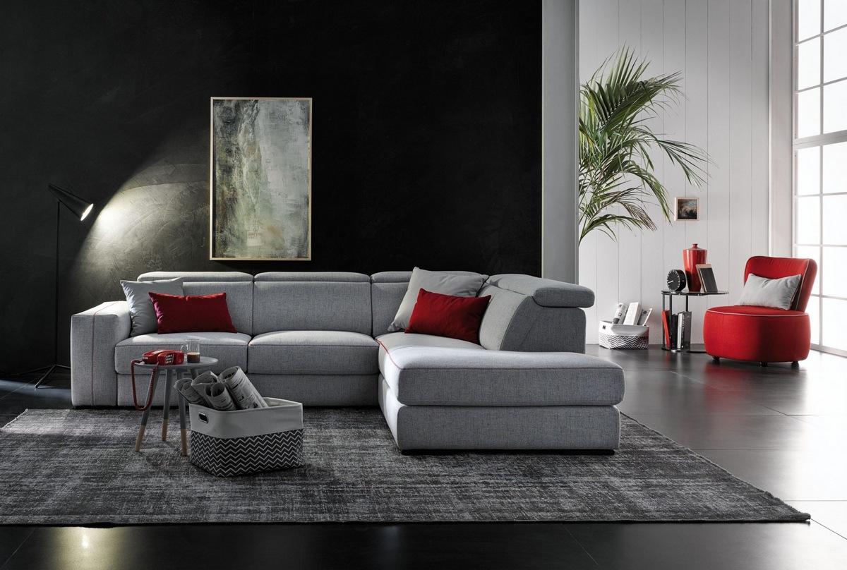 Divani moderni gervasi xl for Divani di design