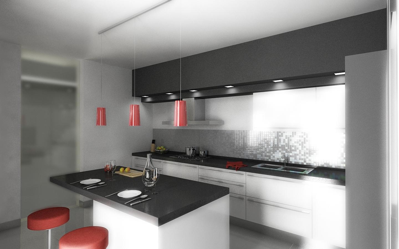 Progettare cucina 3d beautiful costruzione dei muretti - Progettare cucina 3d gratis ...