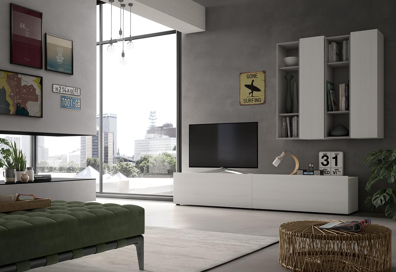 Zona giorno moderna gervasi xl for Zona giorno moderna